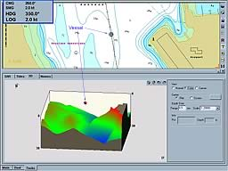 3D Chart Imaging - Dent Passage Whitsunday Islands