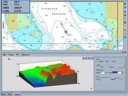 3D Chart Imaging - Fitzalan Passage Whitsunday Islands