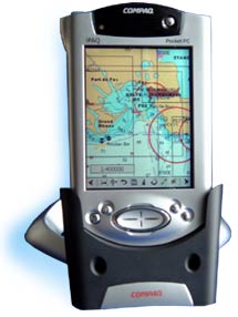 Compaq Pocket PC with Pocket Sailor